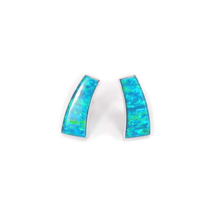 Flinder Turquoise Inez Stud Earrings