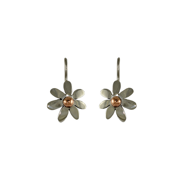 Flora Daisy Drop Earrings