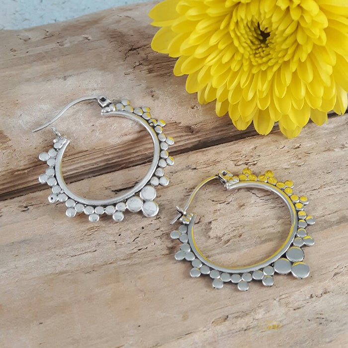 Dalia Hoop Earrings