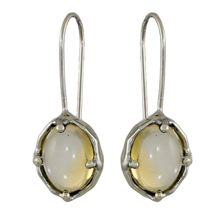 Yulya Citrine Drop Earrings