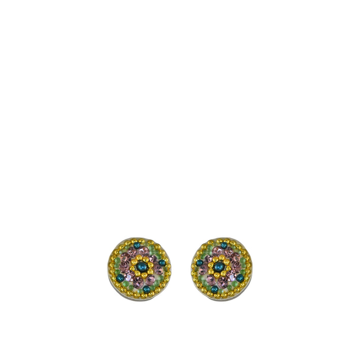Allegra Antique Daisy Stud Earring
