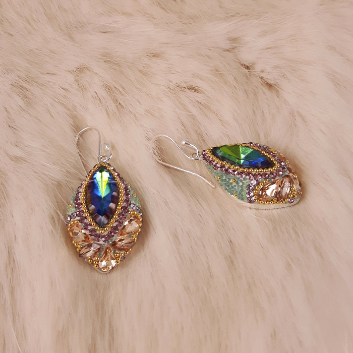 Allegra Antique Drop Earrings