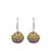Allegra Antique Sphere Drop Earrings
