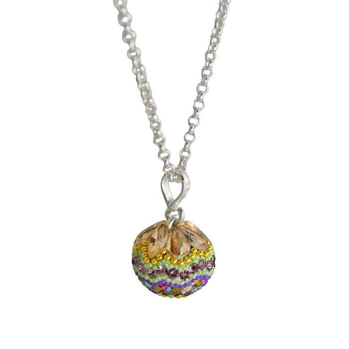 Allegra Antique Mini Sphere Pendant