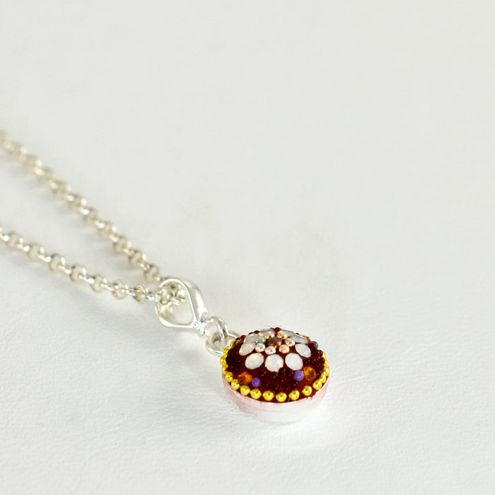Allegra Berry Daisy Mini Pendant