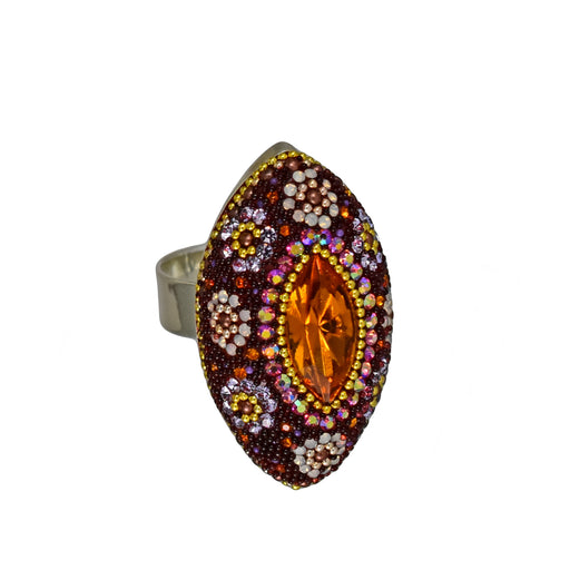 Allegra Berry Daisy Ring