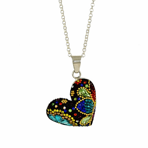 Allegra Blue Heart Pendant