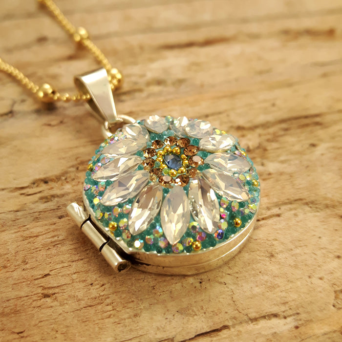 Allegra Daisy Dream TQ Locket