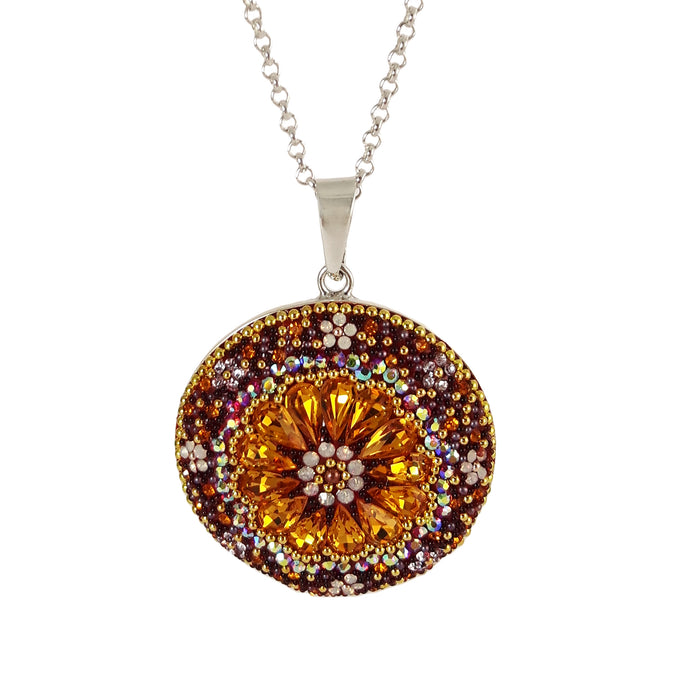 Allegra Disc Berry Pendant