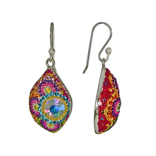 Allegra Floralia Drop Earrings
