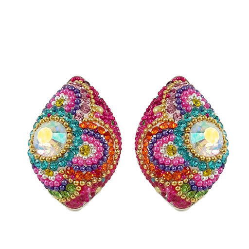 Allegra Floralia Stud Earrings