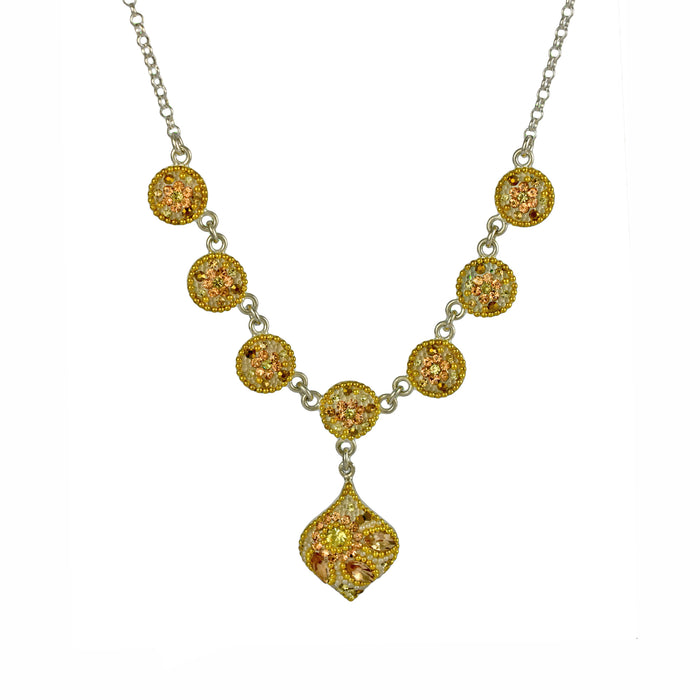 Allegra Gold Dream Drop Necklace