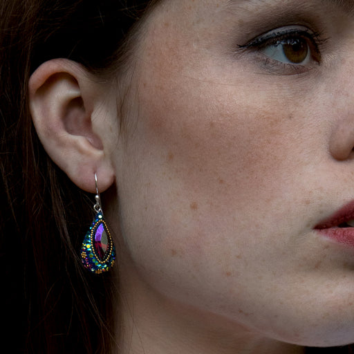 Allegra Iridescent Drop Earrings