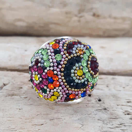 Allegra Dome Multi Ring Size L