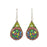 Allegra Pine Drop Earrings