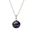 Allegra Purple Shimmer Mini Sphere Pendant