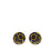 Allegra Purple Shere Stud Earrings