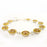 Allegra Gold Dream Rd Daisy Bracelet