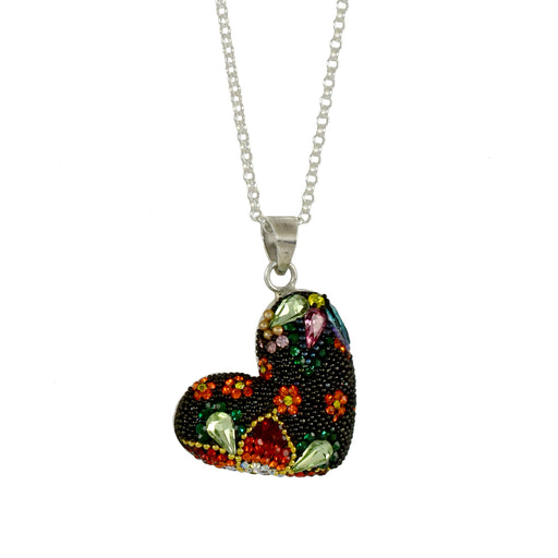 Allegra Red Heart Pendant