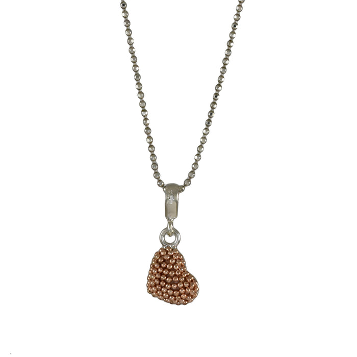 Allegra Rose Heart Pendant