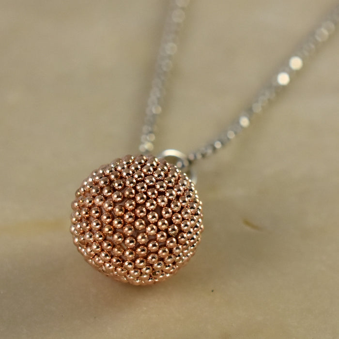 Allegra Rose Sphere Pendant
