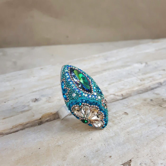 Allegra Verdi Antique Ring