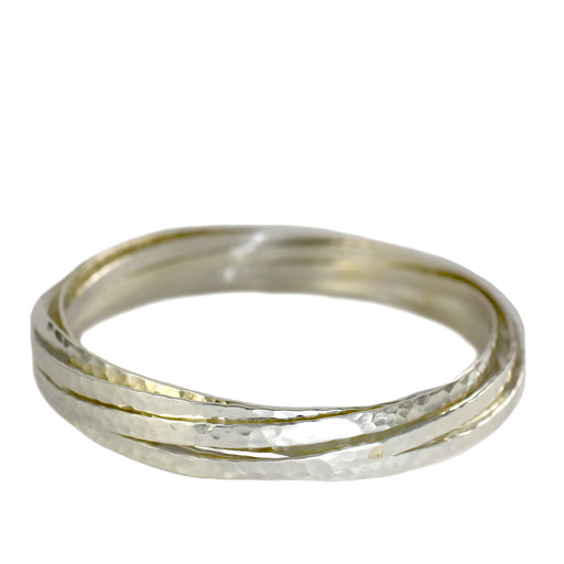 Amazon 7 Hammered Bangle