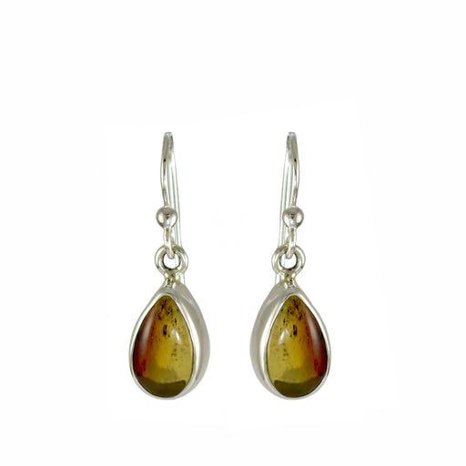 Amber Dainty Teardrop Drop Earrings