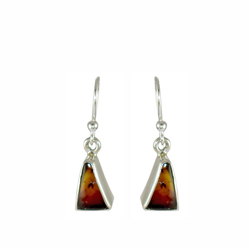 Amber Dainty Tri Drop Earrings