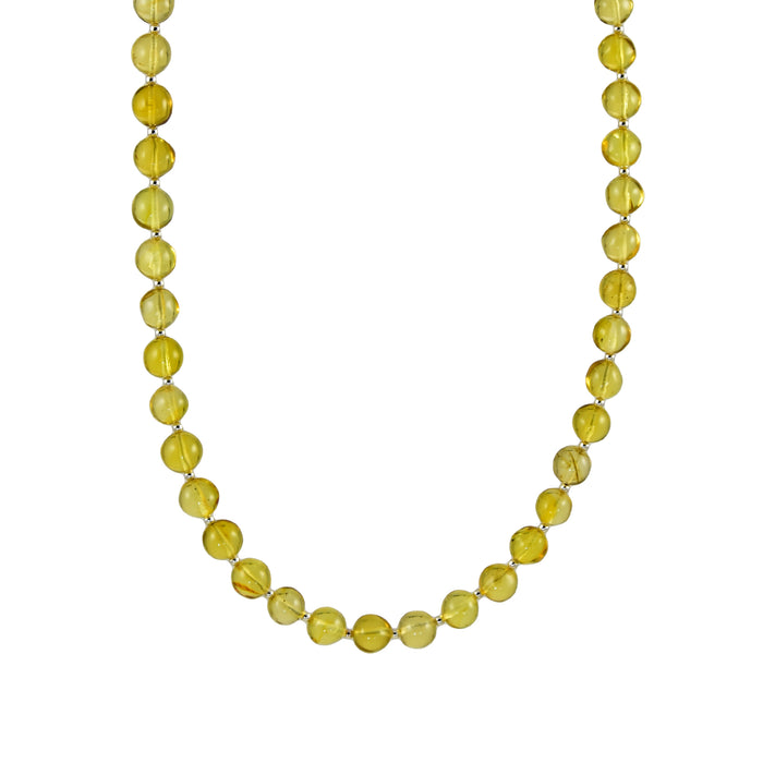 Amber Medium Bola Necklace
