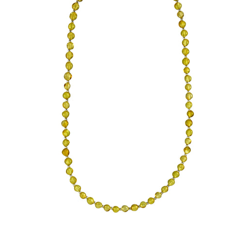Amber Small Bola Necklace