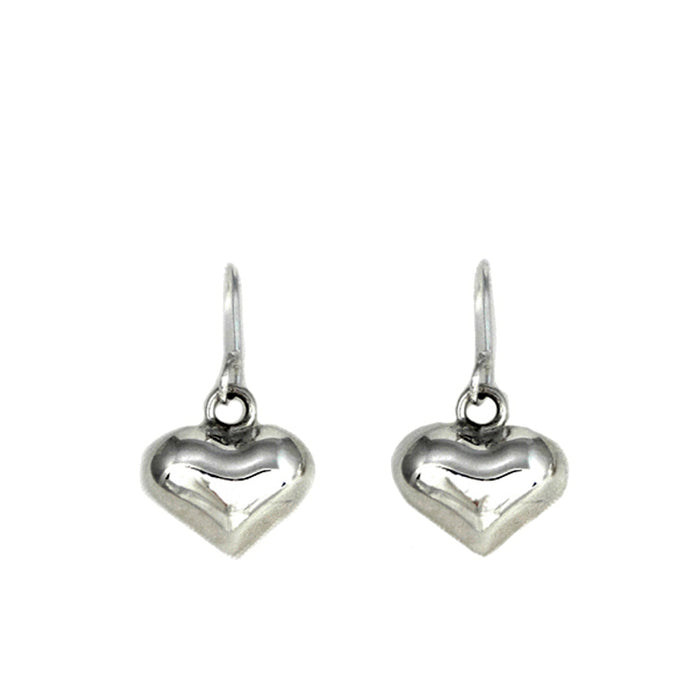 Amore Heart Drop Earrings