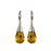 Ana Amber Large Drop Earrings