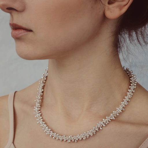Bella Silver Links Necklace