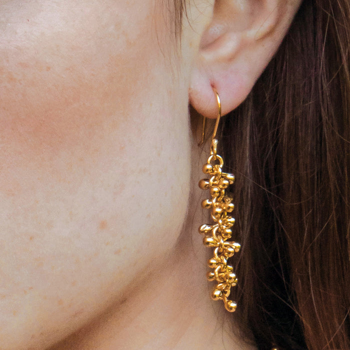 Bella Gold Drop Earrings