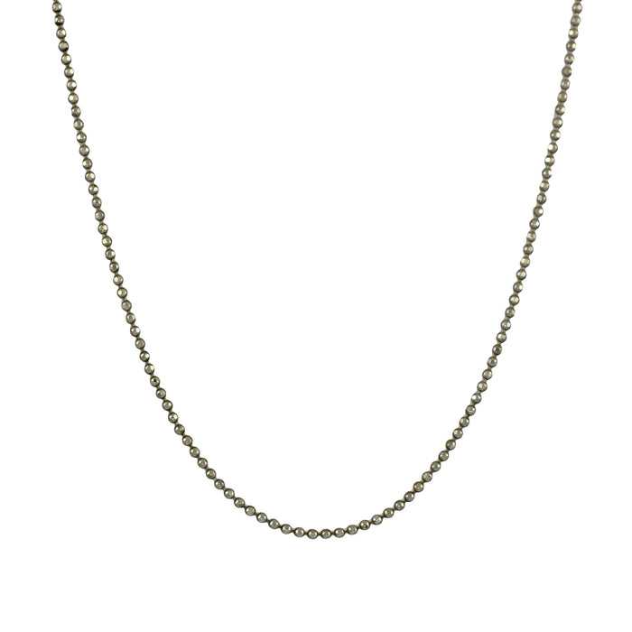 Bobble 45cm Sterling Silver Chain