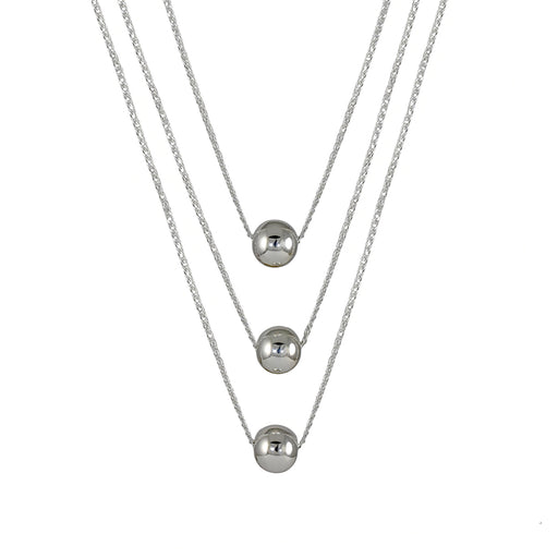 Bola 3 Layered Chain Necklace