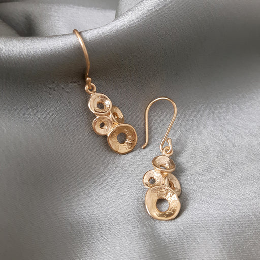 Foresta Brianna Gold Drop Earrings