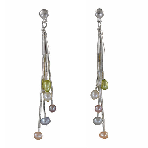 Evelyn Multi Pearl Earrings