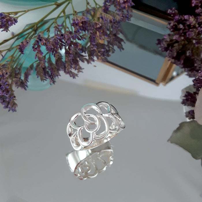 Celtic Luck Knot Ring