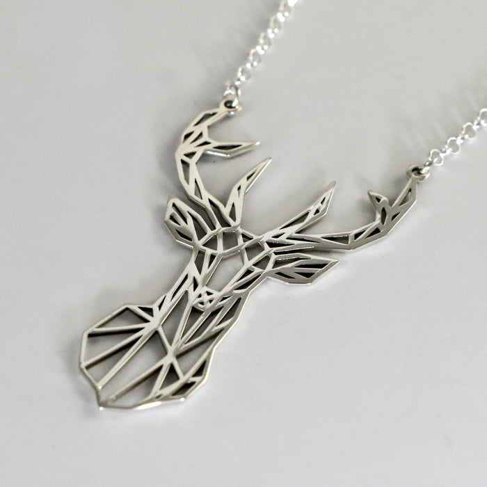 Celtic Stag Necklace