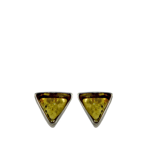Amber Dainty Arrowhead Stud Earrings