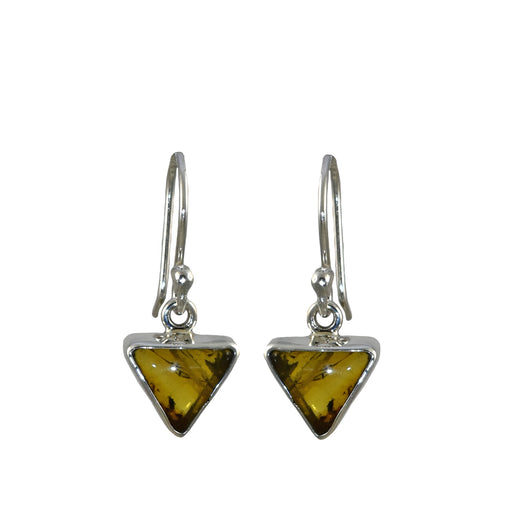 Amber Dainty Arrowhead Drop Earrings