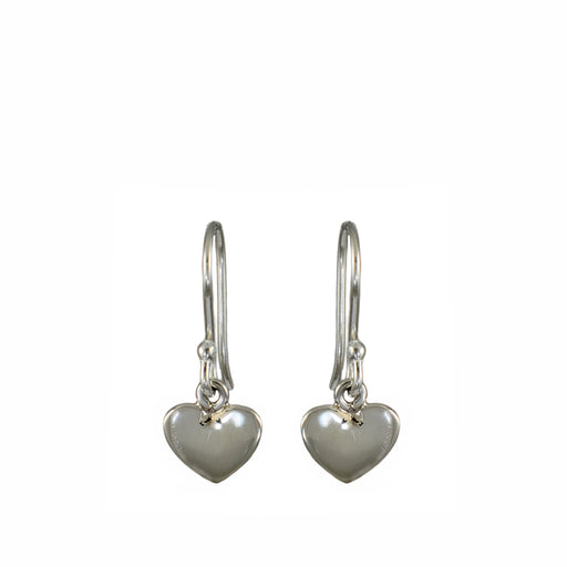 Dainty Heart Drop Earrings
