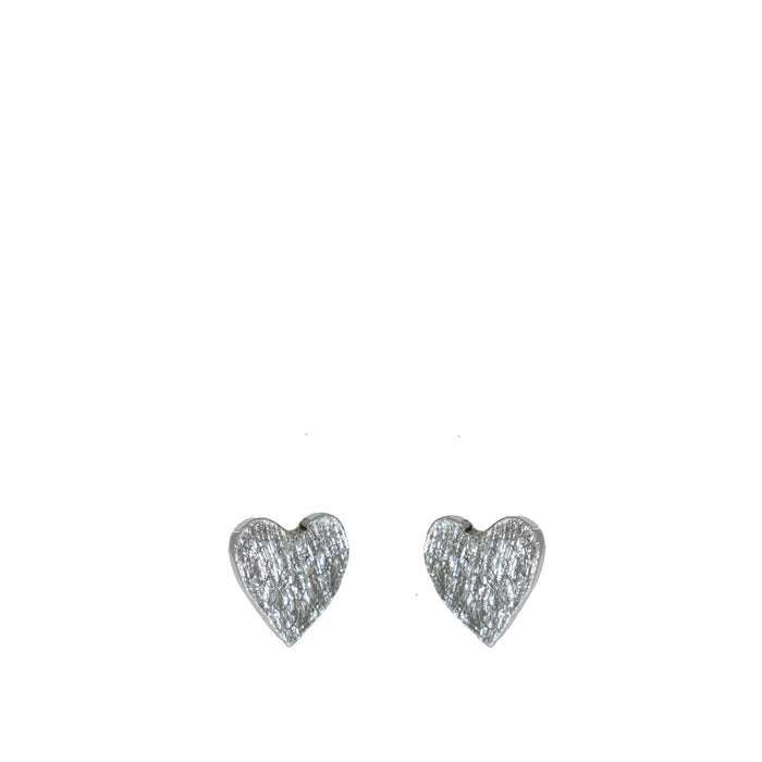 Dainty Heart Stud Earrings