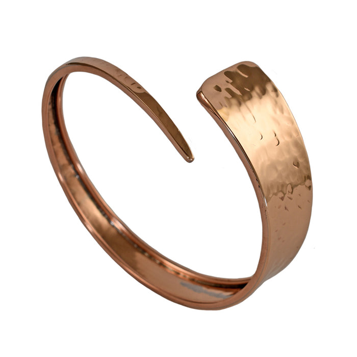 Copper Divine Hammered Cuff