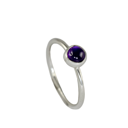Dotty Amethyst Ring