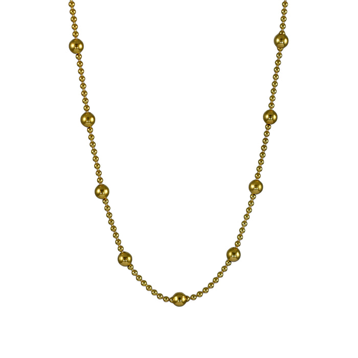 Dotty Gold Chain Necklace 40-45