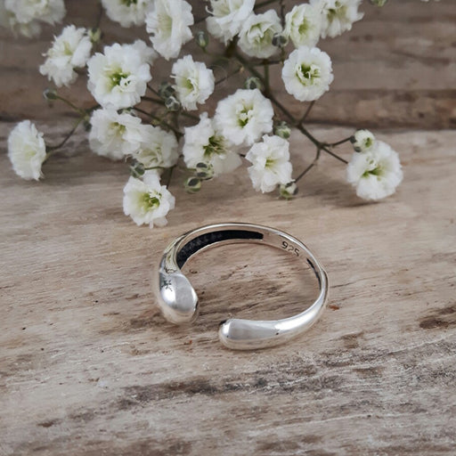 Droplet Polished Ring