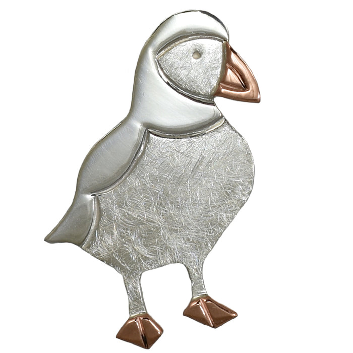 Duet Percy Puffin Brooch